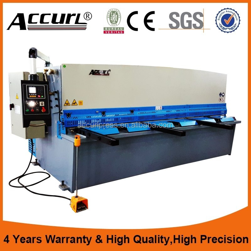ACCURL Brand hydraulic Metal Sheet <strong>Cut</strong> , plate hydraulic shearing machine