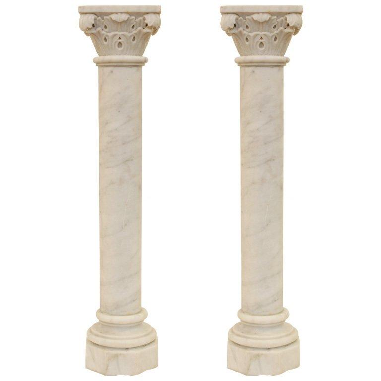 Roman Marble Columns Beautiful Wedding Decoration Pillars