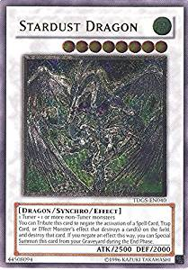 Yu-Gi-Oh! - Stardust Dragon (TDGS-EN040) - The Duelist Genesis - Unlimited Edition - Ultimate Rare