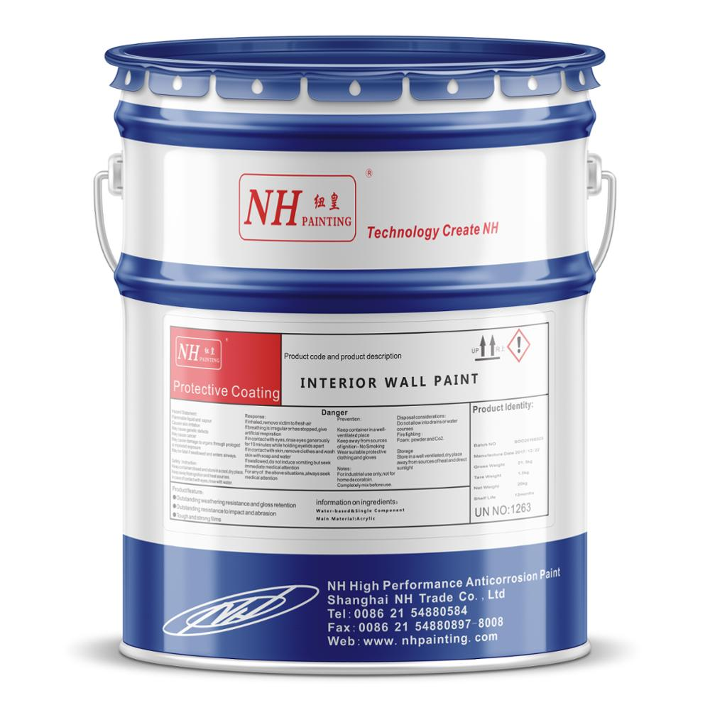 Best Building Indoor House Spray Emulsion Latex Interior Wall Paint For Home Texture