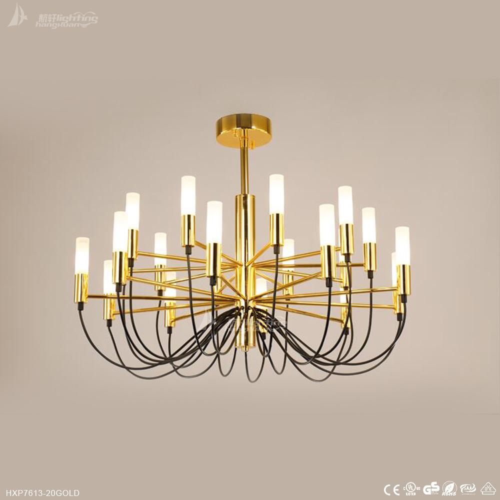 Lustres Cristal Dourado De Atacado Compre Os Melhores Lotes  -> Lustre Para Sala De Jantar Dourado