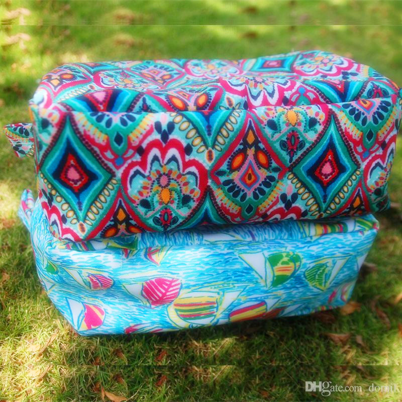Lilly Pulitzer Fashion Cosmetic cases Ladies Colorful Cosmetic Bag Crown  Jewels and Sailing Travel Bags 66bdc5f951f4a