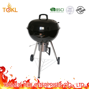 Hot Selling 22.5inch Kettle Charcoal Grilll Apple BBQ Grill Weber Charcoal BBQ Grill with Detachable Ash Pan