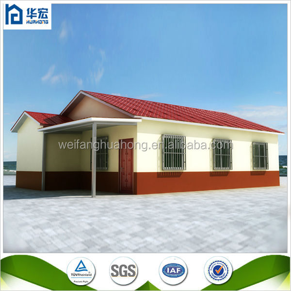ready made comfortable houses prefabricated villa
