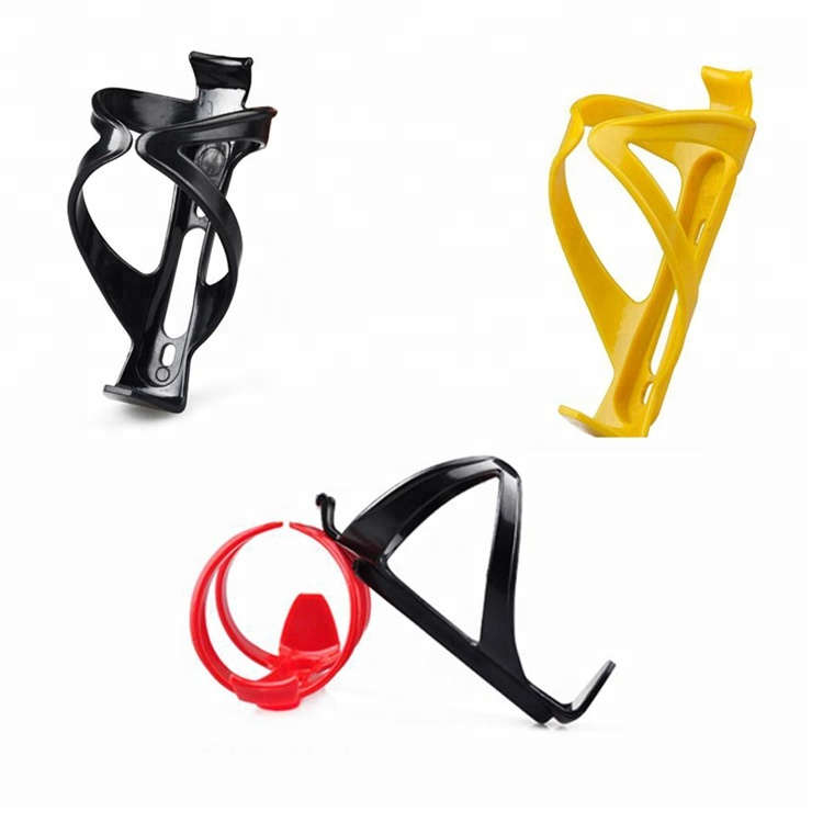 Bicycle Water Bottle Cage Suitable For All Kinds of Frame With Mounting Holes Delicately and Durable PC Bicycle Bottle Holder