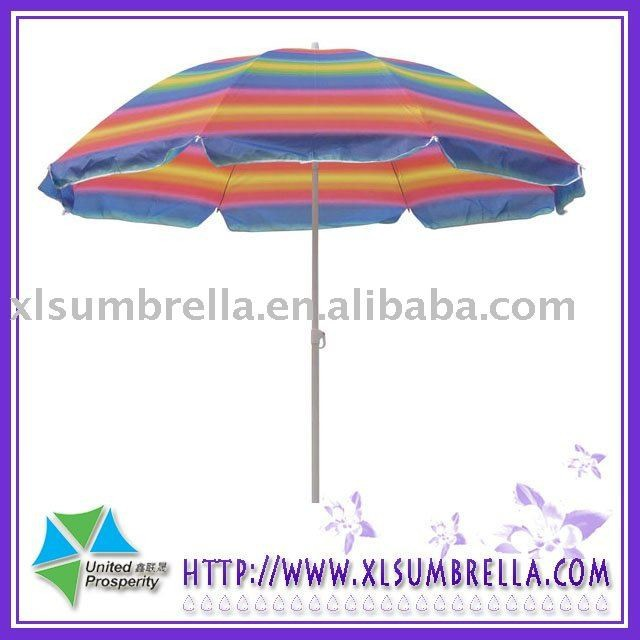 umbrella with hole for outdoor table