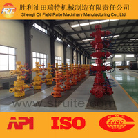 2014 API 6A wellhead and christmas tree for oil drilling