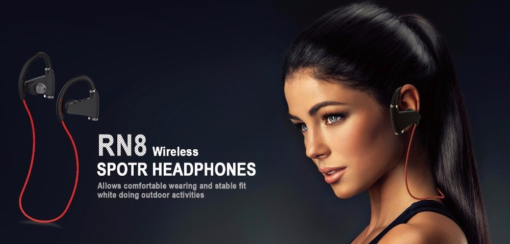 New Fashion Hi-Fi Wireless Bluetooth Stereo Inear High Quality Headphones for iphone ipod Android RN8