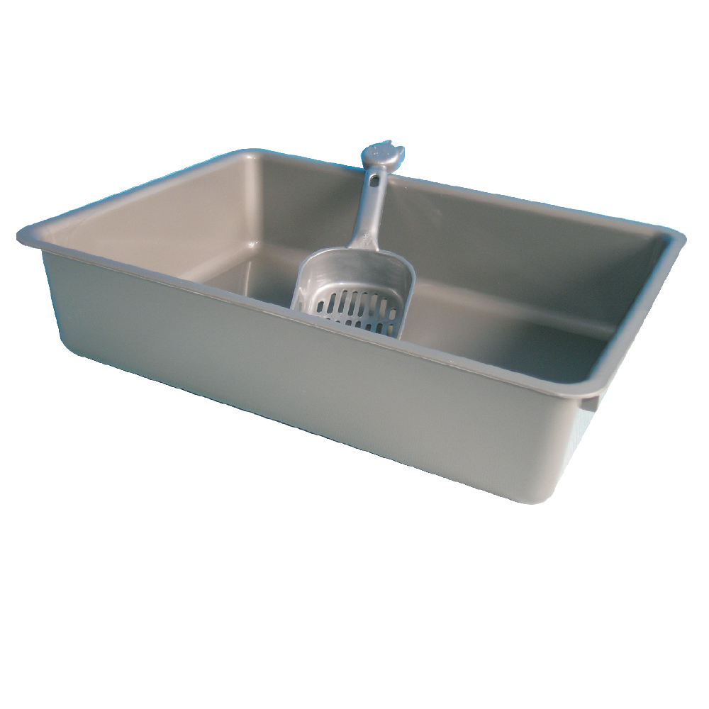 Wholesale Promotion Plastic Cat litter tray for cat Piss