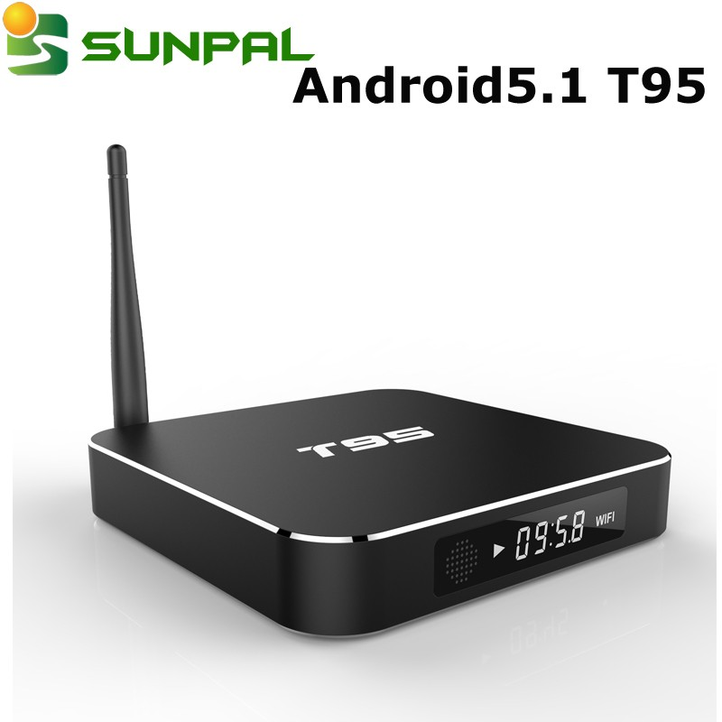 android tv box Amlogic S905 T95 TV Box Top Selling Products 2016 Metal Case T95 TV Box