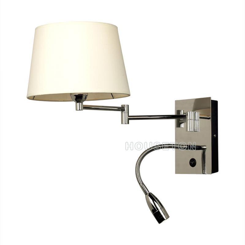 Modern Hotel Guest Room Wall Lamp Swing Arm,Hotel Guest Room Wall ...