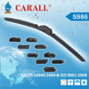 Long Life Span Latest 11 adapters universal wiper blade with A grade rubber refill