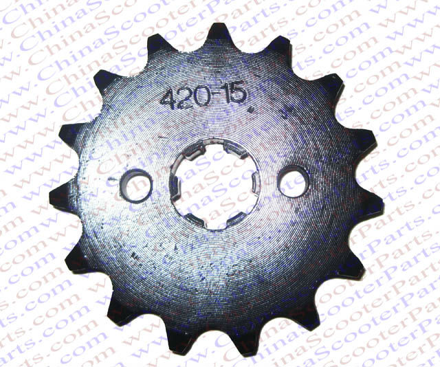 15 Tooth 420 428 520 530 17MM 20MM 50CC 70CC 90CC 110CC 125CC 150CC 200CC 250CC Sprocket Dirt Pit bike ATV Quad Buggy Parts