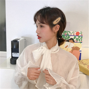 2019 Newest Cashmere Purity Color Lovely And Cute Banging Clip