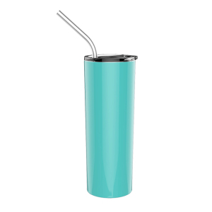 Newest powder coated tumbler mug for sublimation thermal mugs vacuum insulated