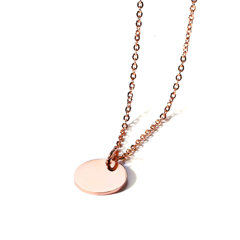 Accept design stainless steel <strong>fashion</strong> gold pendant chain necklace