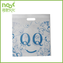 eco friendly promotional silk printing pp non woven shopping bags