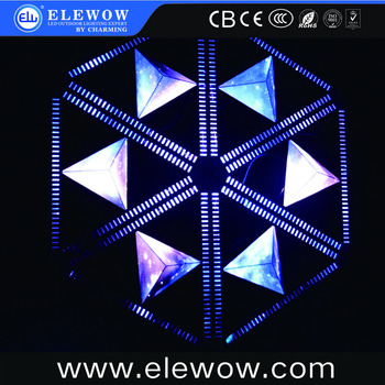 Stage Decoration Rgb 3 In 1 Led 3d Triangle Led Wall Backdrop Led Videos  Small Triangle Wall/screen Latest Design - Buy Stage Decoration Light,3d