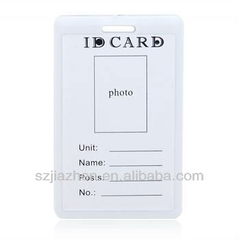 Export Exclusively Voter Id Card Format Offset Printing - Card template free: blank id card template