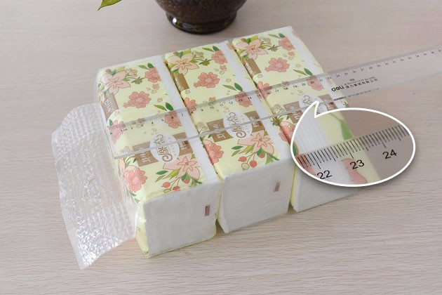 Factory Promotional Virgin Wood Pulp White Facial Tissue Soft Pack