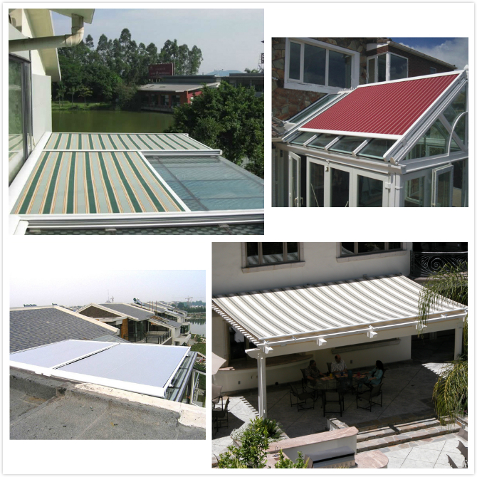 Cheap Retractable Roof Systems Electric Skylight Canopy ...