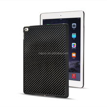 Durable New Black Color Carbon Fiber Tablet Case for iPad Air 2, Universal Case for Ipad