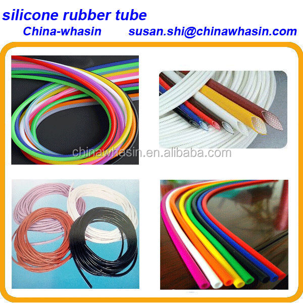 silicon rubber heat shrink tubes