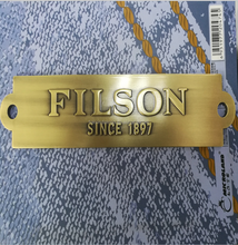 Customized high-end antique brass logo plate/badge, metal label plate for furniture
