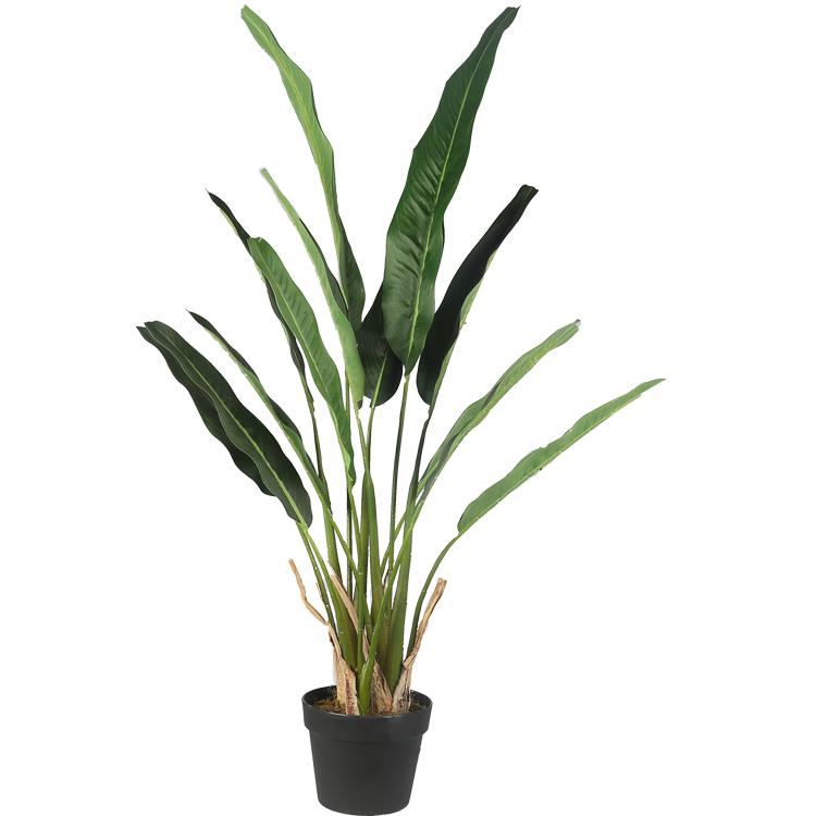 1.1 m Reiziger Boom Nep Tropische Floor Planten