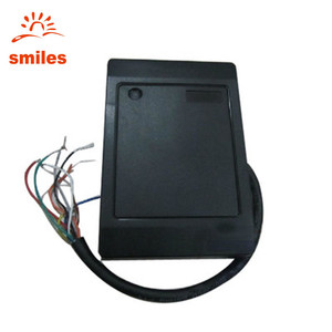 RS232/RS485/Wiegand RFID Contactless Wall Mount RFID Reader For Door Access Control