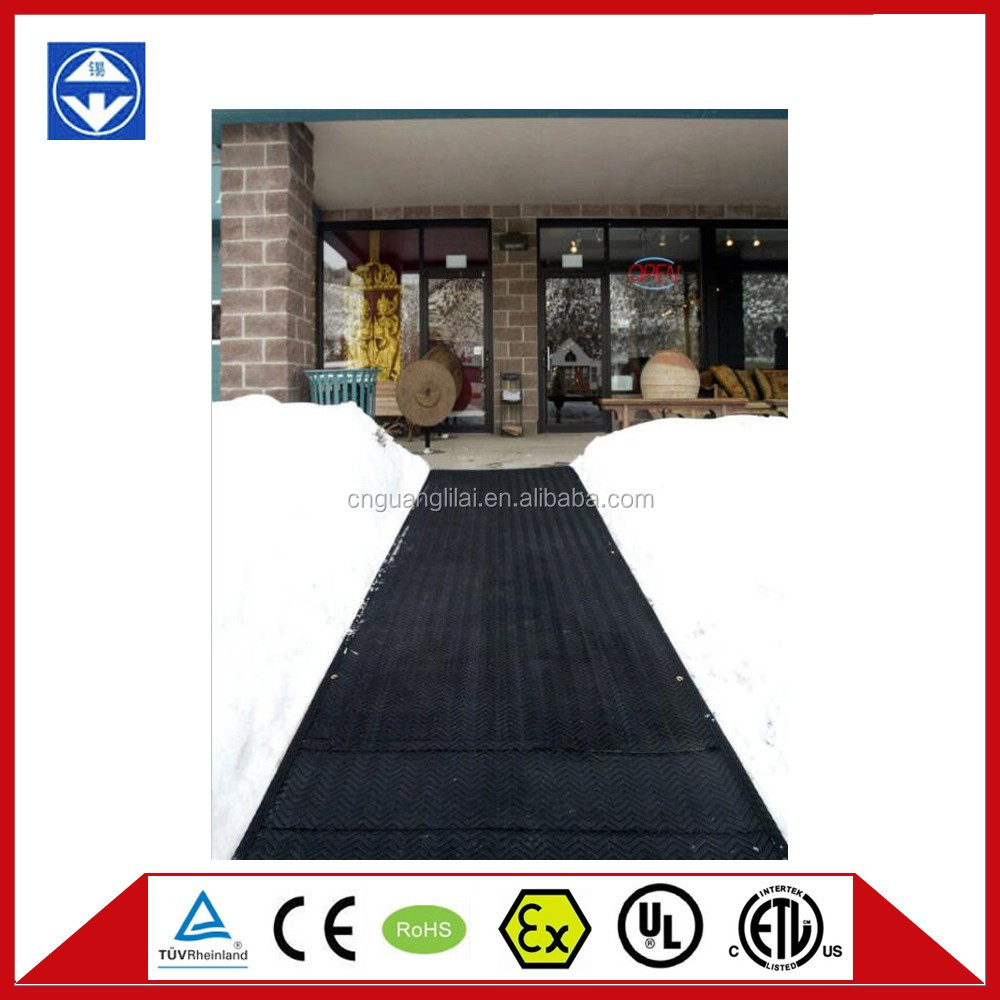 UL outdoor snow melting heat mats