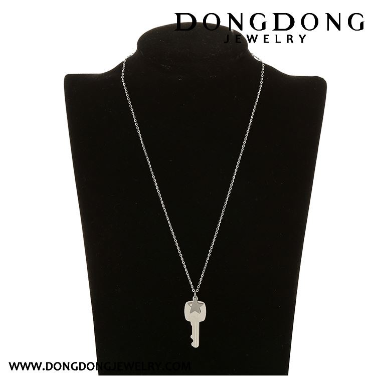 Modern style different types with fast delivery white stainless steel white stainless steel necklace women with happy