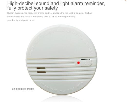 China Factory Cheap Price Smart Design Battery Operated Home Alarm - Buy  2018 Best Security Product Fire Alarm,Photoelectric Fire Alarm,Hot Sale