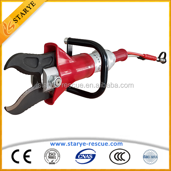 Firefighting Car Extrication Shearing Tools Hydraulic Rescue Portable Cutter