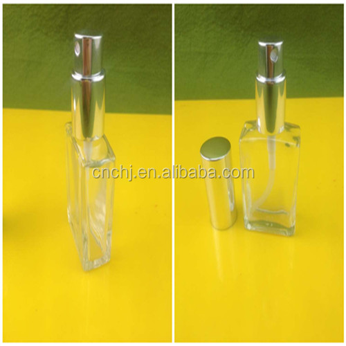 30ml Glass Material Refillable Screw Pump Sprayer Sealing Type Perfume Industry Use Clear Glass Bottle For Perfume