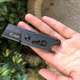 lastest multifunction mini folding camping pocket cute knife with black coating