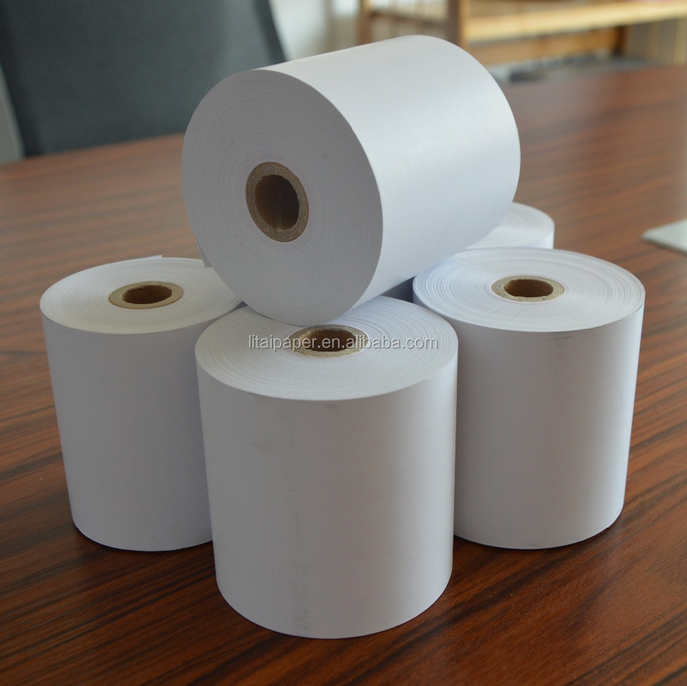 OEM custom atm pos cash receipt thermal copier paper roll