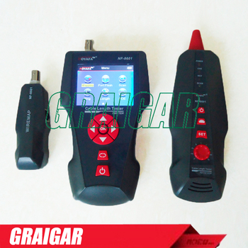 Nf-8601 Poe Ping Ethernet Tester Network Cable Length Tester Tracking  Rj45,Rj11 - Buy Network Cable Tester,Remote Cable Tester,Cable Tester  Nf-8601