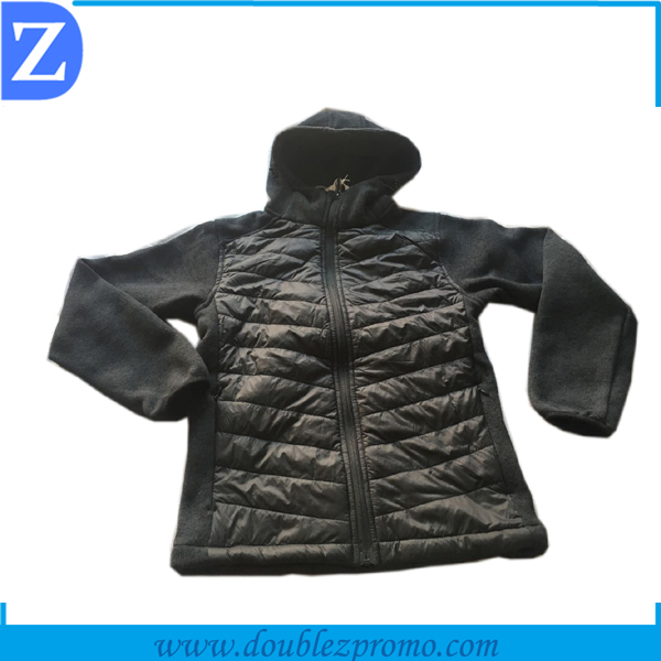 Spring melange knitted jacket