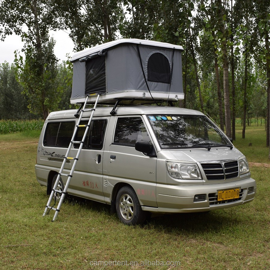 Automatic pop up hard shell roof top tent for car in c&ing & Automatic pop up hard shell roof top tent for car in camping View ...