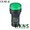 22mm green led push button switch raised type CE CQC RoHS (Replace Omron XB7)