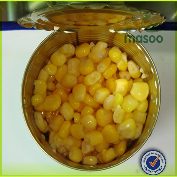 Whole Sweet Canned Corn Kernels,Vegetarian Canned Food