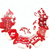 Made in China superior quality knitted christmas hanging ornament