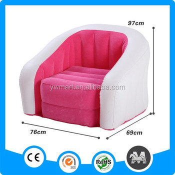 Chesterfield Inflatable Sofa Pink Single Luxury Living Room Sofa For ...