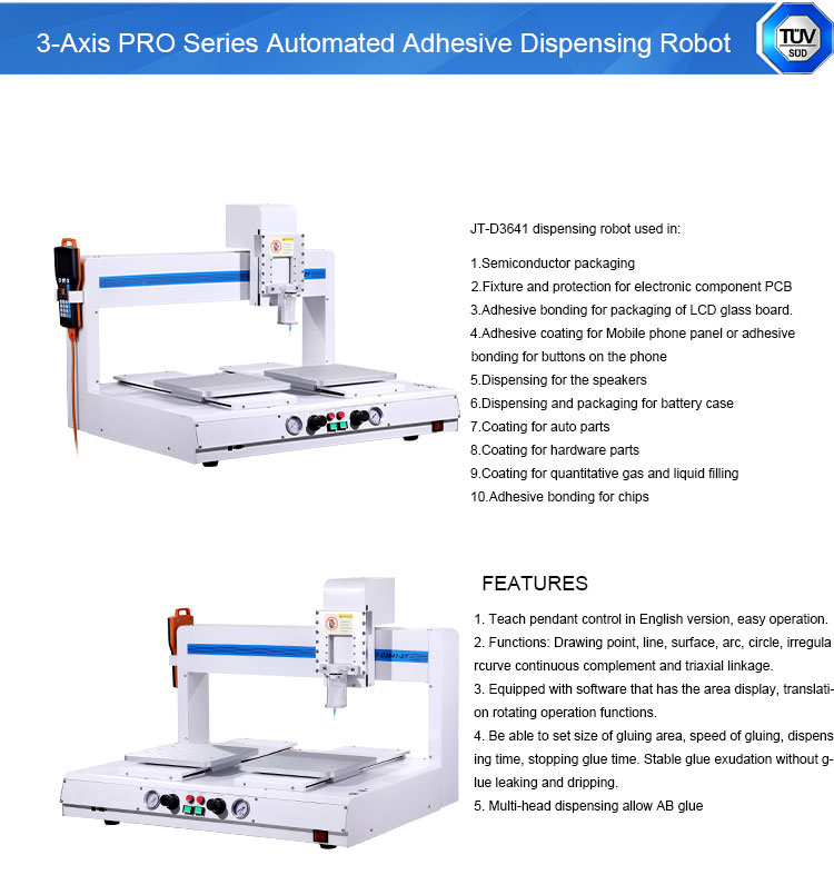 iPhone Bezel Frame UV Glue Dispensing Robot Machine
