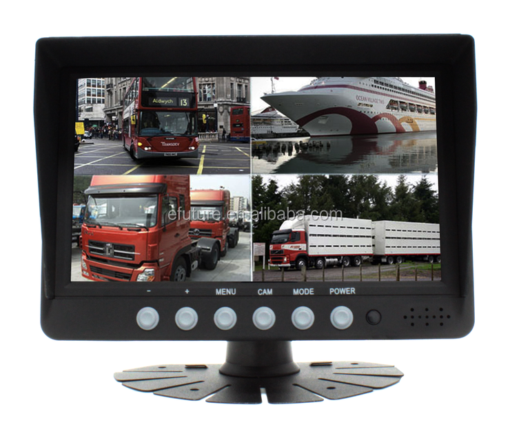 "Rear View Systems 7"" Digital Quad bus Car LCD Monitor with HDMI Input"
