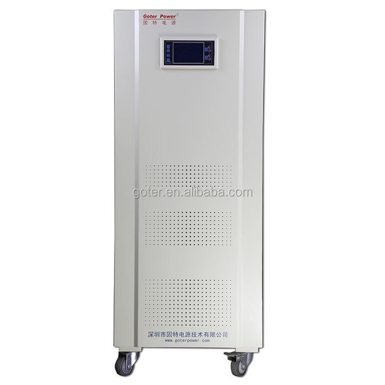 SCR-AVR 200KVA 3 Phase Industrial AC Brushless Automatic Electric Voltage Regulator/Stabilizer /Energe Saver