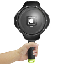 SHOOT Dome Port for Xiaomi YI 2 4K Action Camera Accessories