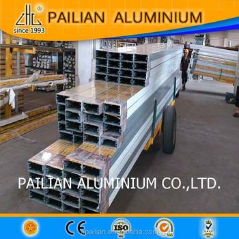 Wow Alluminio Tenda Profilo Di Parete Vetro Facciata Prezzo