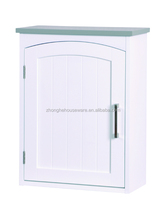 Newly Design Grey Top MDF Bathroom Storage Wall Mounted Cabinet